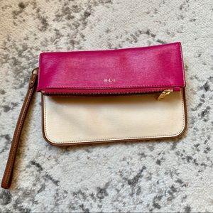Cute pink clutch